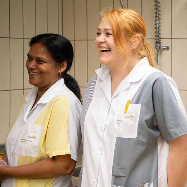 Pflegepersonal bei Sanavita