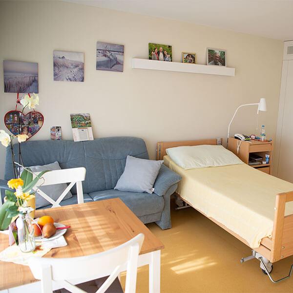 Zimmer im Pflegeheim Lindenpark